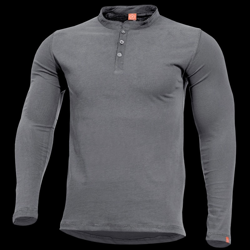 PENTAGON Romeo Henley Shirt Grey